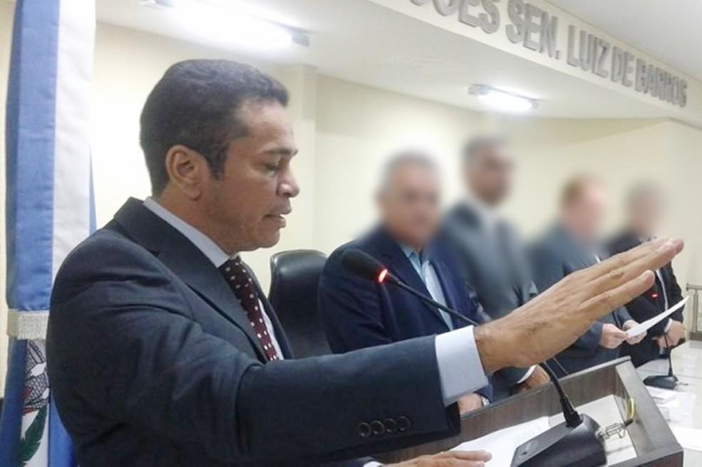 Suplente, João Maria da Costa chegou a assumir o cargo de vereador em São Gonçalo do Amarante em 2015 por conta de licença médica de um colega (Foto: Arquivo pessoal)