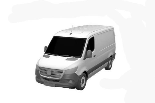 Configuração menor da van Sprinter foi registrada no INPI (Foto: Divulgação)