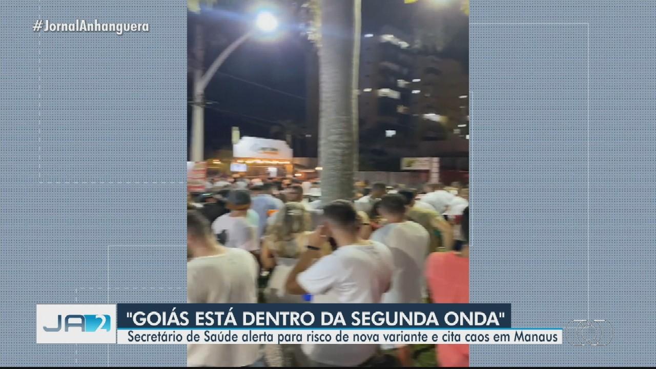 Goiás registra 52 mortes por coronavírus em um dia, diz governo