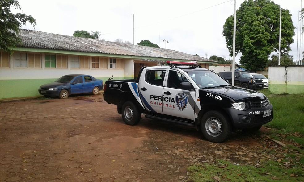 Caso foi registrado na Delegacia de Polícia Civil de Guajará-Mirim (Foto: Júnior Freitas/G1)