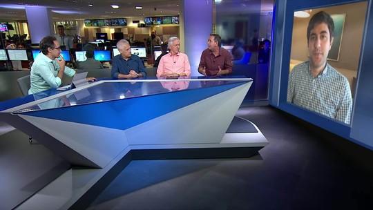 Renatinho comenta as finais da NBA ao vivo no Redação SporTV