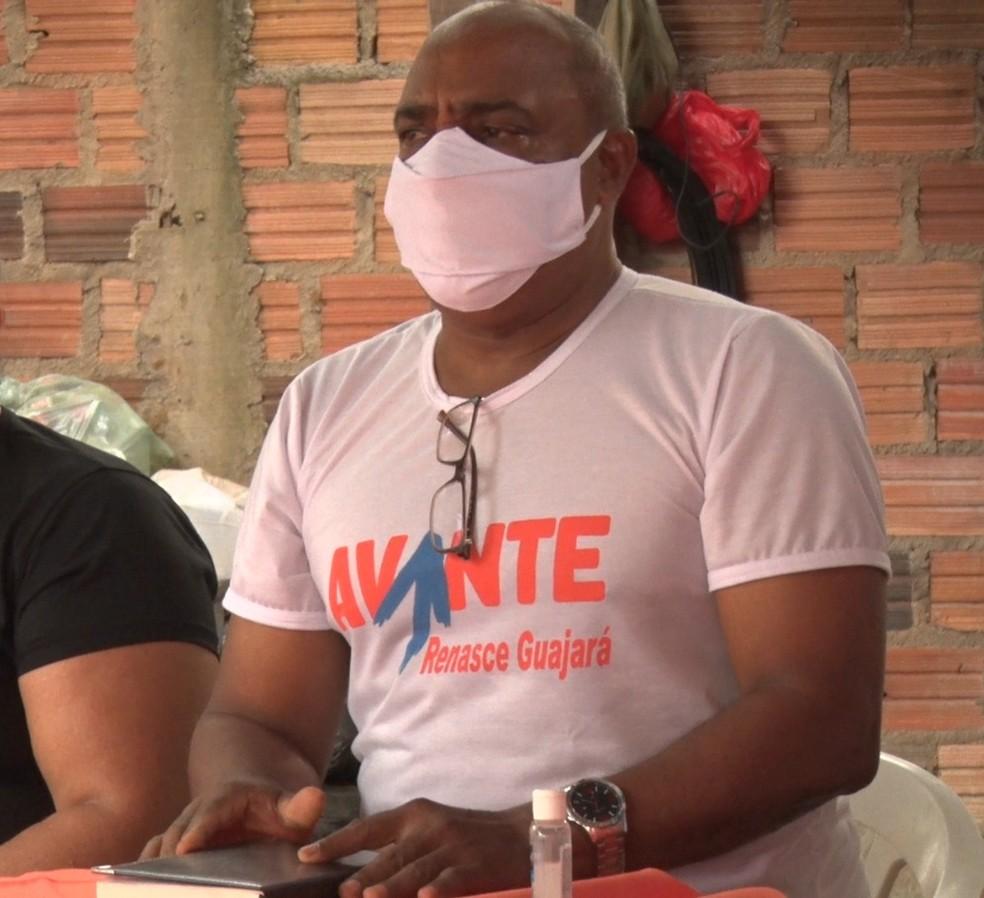 Maurício Dibas, candidato pelo Avante em Guajará-Mirim — Foto: Reprodução/Rede Amazônica