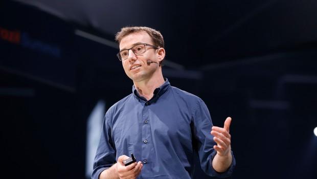 David Hunt, co-fundador da Cainthus, empresa que emprega inteligência artificial no gado  (Foto: Divulgação)
