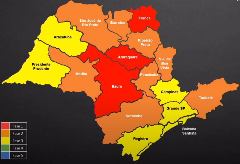 Região de Araçatuba avança para a fase amarela do Plano SP; Olímpia vai para fase laranja