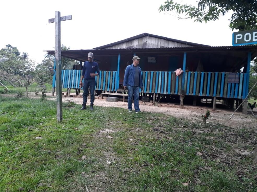 Casal foi morto na quarta-feira (26) a tiros na zona rural de Capixaba  — Foto: Divulgação/Polícia Civil