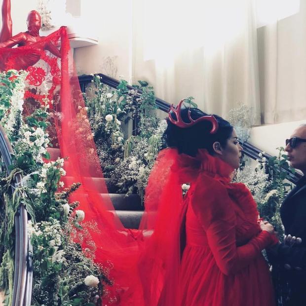 O casamento de Kat Von D e Leafer Sayer. (Foto: Instagram Kat Von D/ Reprodução)