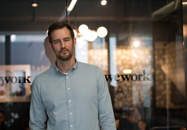 Miguel McKelvey, cofundador do WeWork (Foto: Divulgação WeWork)