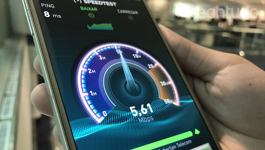 Ranking revela internet móvel mais rápida do Brasil