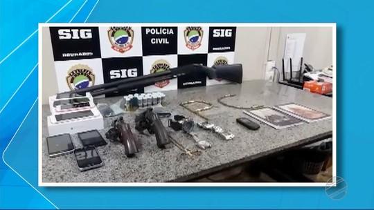 Quadrilha é presa suspeita planejar morte de agente penitenciário em Dourados, MS