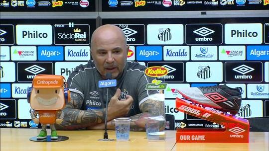 Sampaoli diz que terá reunião com Autuori sobre futuro no Santos e agradece apoio dos torcedores