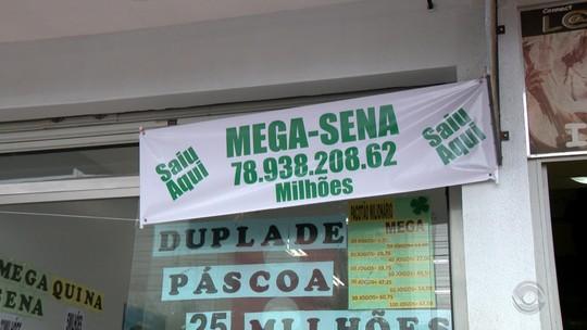 Duas semanas após sorteio, vencedor da Mega-Sena retira prêmio de R$ 78,9 milhões