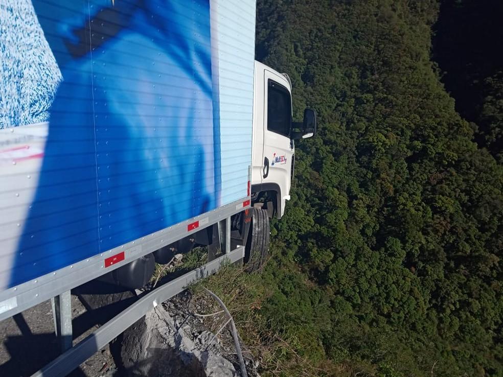 Motorista de 24 anos não ficou ferido, segundo a PMRv — Foto: PMRv/Divulgação