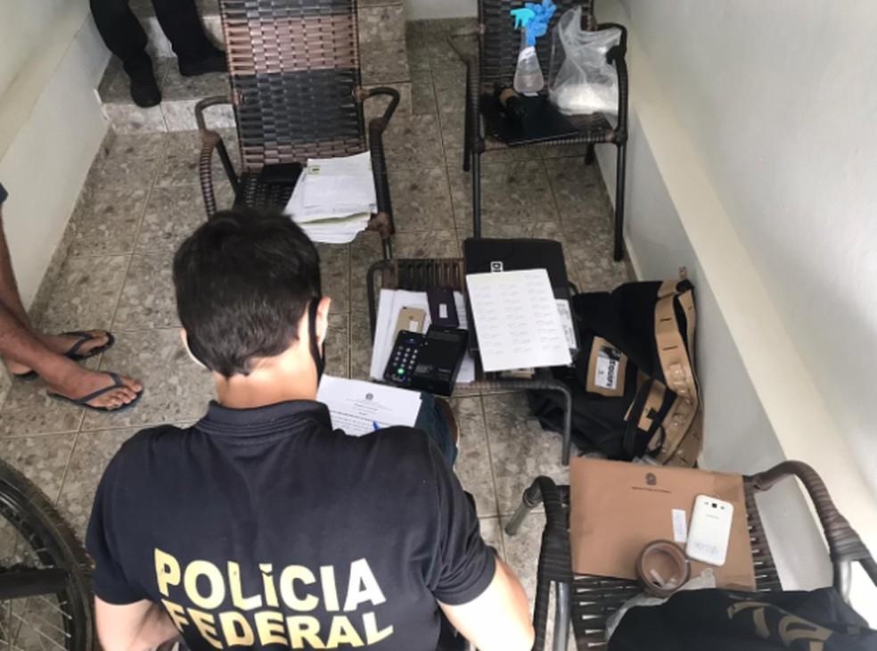 Operação nas cidades de Tianguá e em Catarina. — Foto: Polícia Federal/Divulgação