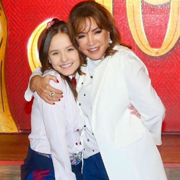 Larissa Manoela e Iris Abravanel (Foto: Manuela Scarpa/Brazil News)