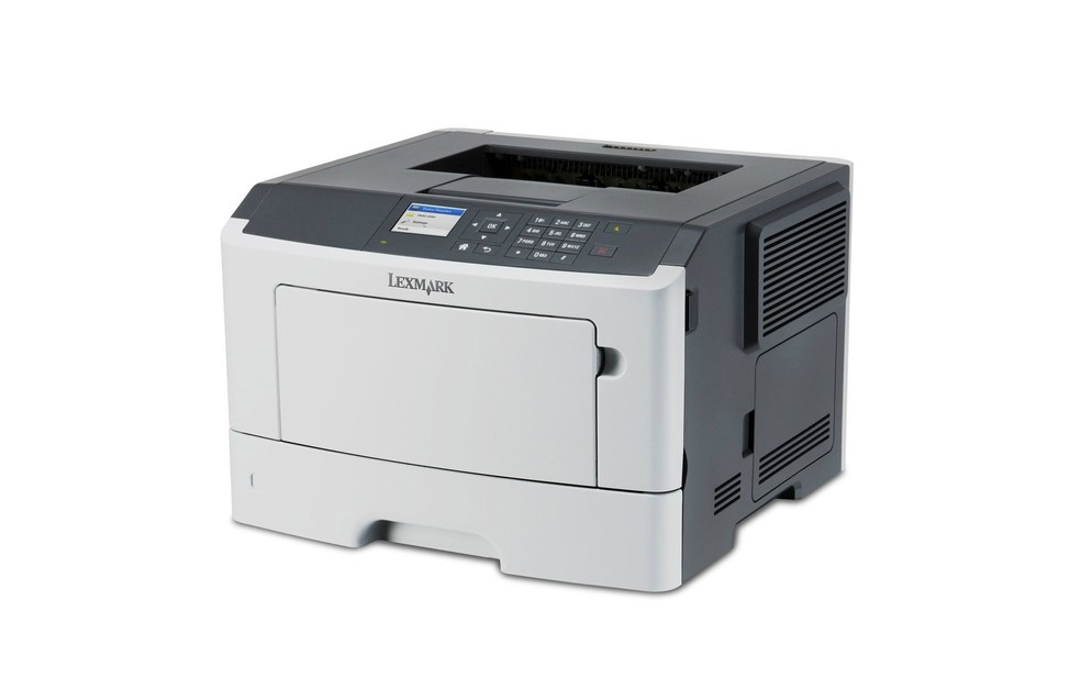 Lexmark MS417dn imprime 38 páginas por minuto em papel A4 (Foto: Divulgação/Lexmark)
