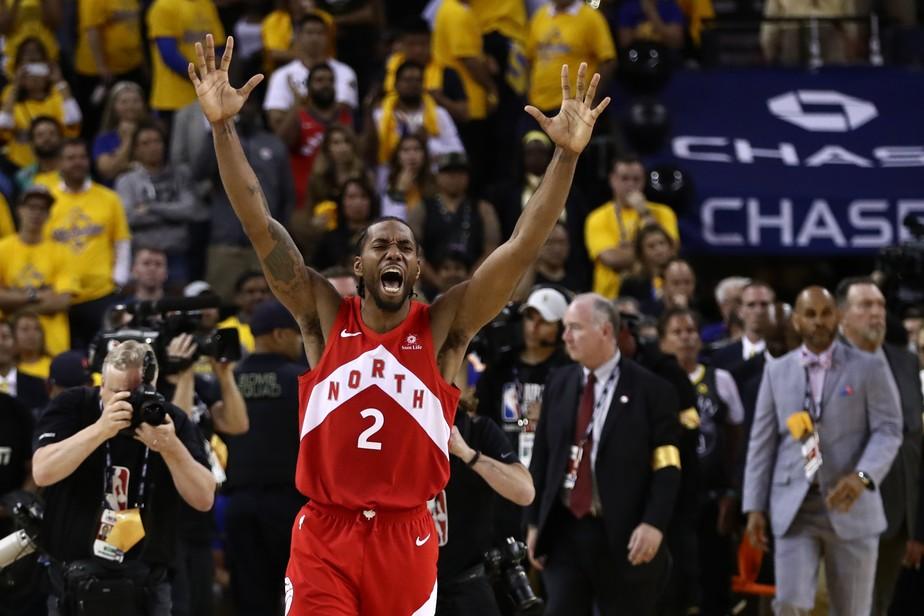 Raptors vencem fora de casa, derrubam dinastia dos Warriors e são campeões da NBA pela 1ª vez