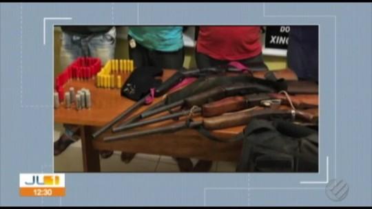 Polícia prende pistoleiros contratados para impedir invasões em fazenda de suspeito de tráfico no Pará