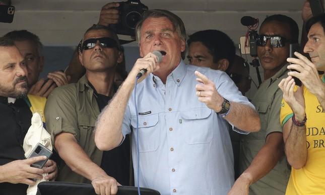 Bolsonaro fez ameaças golpistas durante discurso na Avenida Paulista, no feriado do 7 de setembro