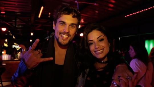 Romântica, Aline Riscado diz que até no gosto musical combina com Felipe Roque