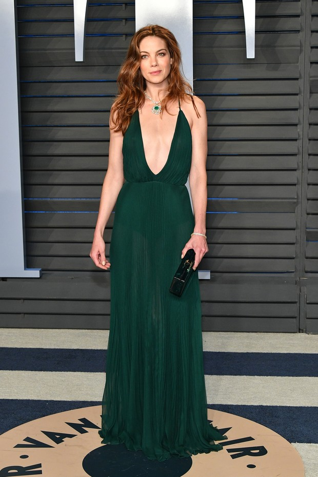 BEVERLY HILLS, CA - MARCH 04:  Michelle Monaghan attends the 2018 Vanity Fair Oscar Party hosted by Radhika Jones at Wallis Annenberg Center for the Performing Arts on March 4, 2018 in Beverly Hills, California.  (Photo by Dia Dipasupil/Getty Images) (Foto: Getty Images)