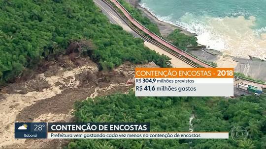 Moradores do Vidigal e Rocinha reclamam da falta de obras de contenção de encostas