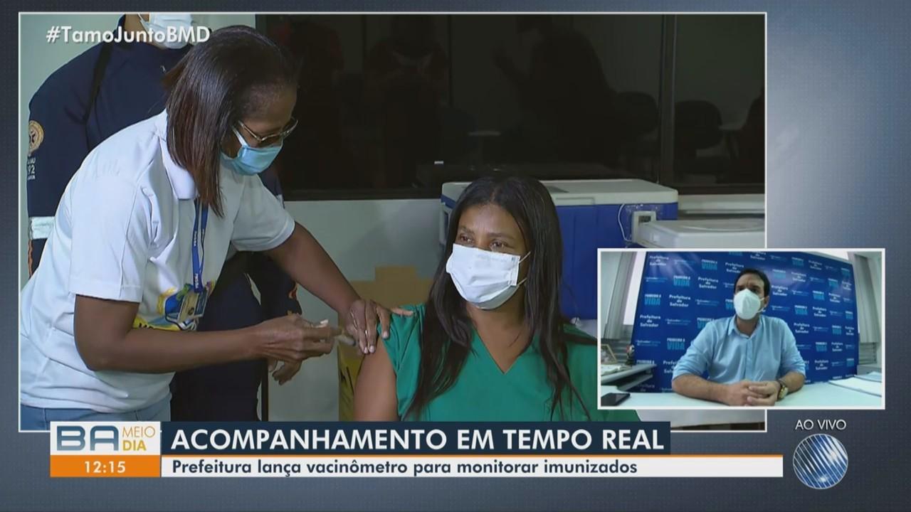 Secretário de Saúde fala sobre o primeiro dia de vacinação contra a Covid-19 em Salvador