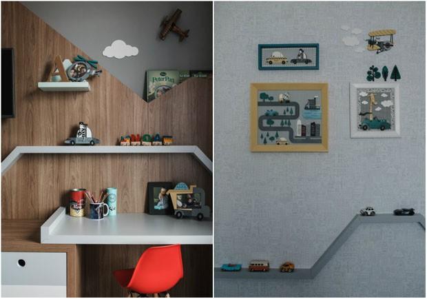Conheça o quarto do segundo filho de Alexandre Nero e Karen Brusttolin (Foto: Maiatos)