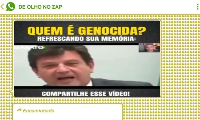 Ex-ministro Luiz Henrique Mandetta ganhou a pecha de 'genocida', termo usado contra Jair Bolsonaro pela oposição, em chats bolsonaristas