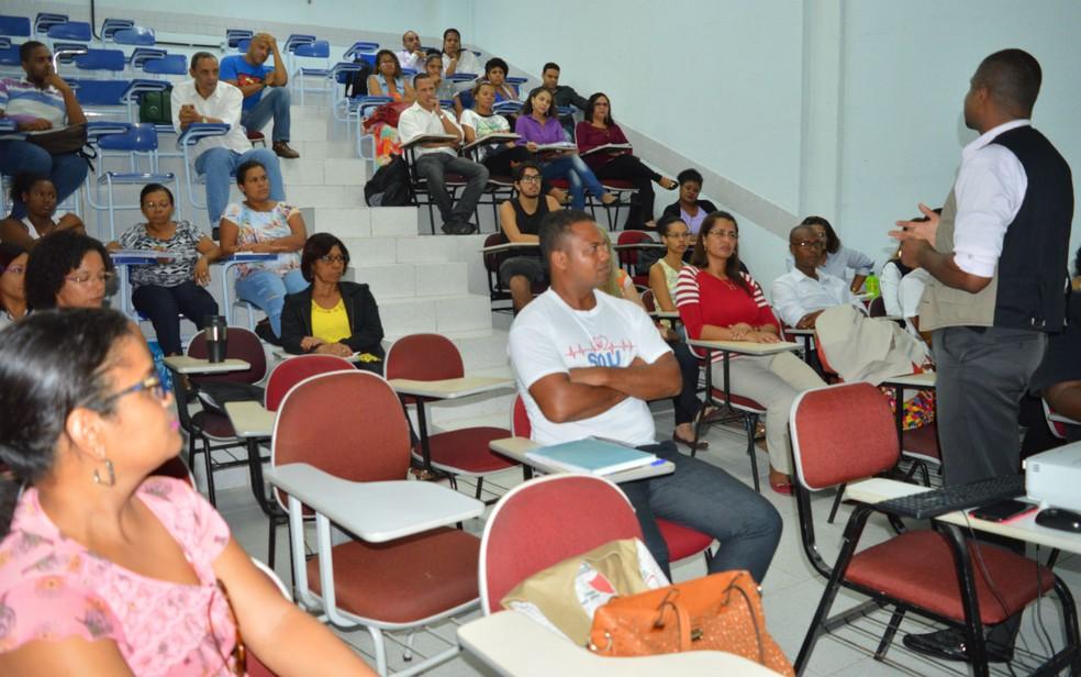 Com foco no Enem, candidatos de Salvador participam de aulões gratuitos que preparam para o Enem — Foto: Divulgação/Assessoria