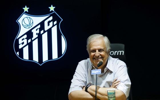 Modesto Roma Júnior, ex-presidente do Santos (Foto: Ivan Storti / Santos FC)