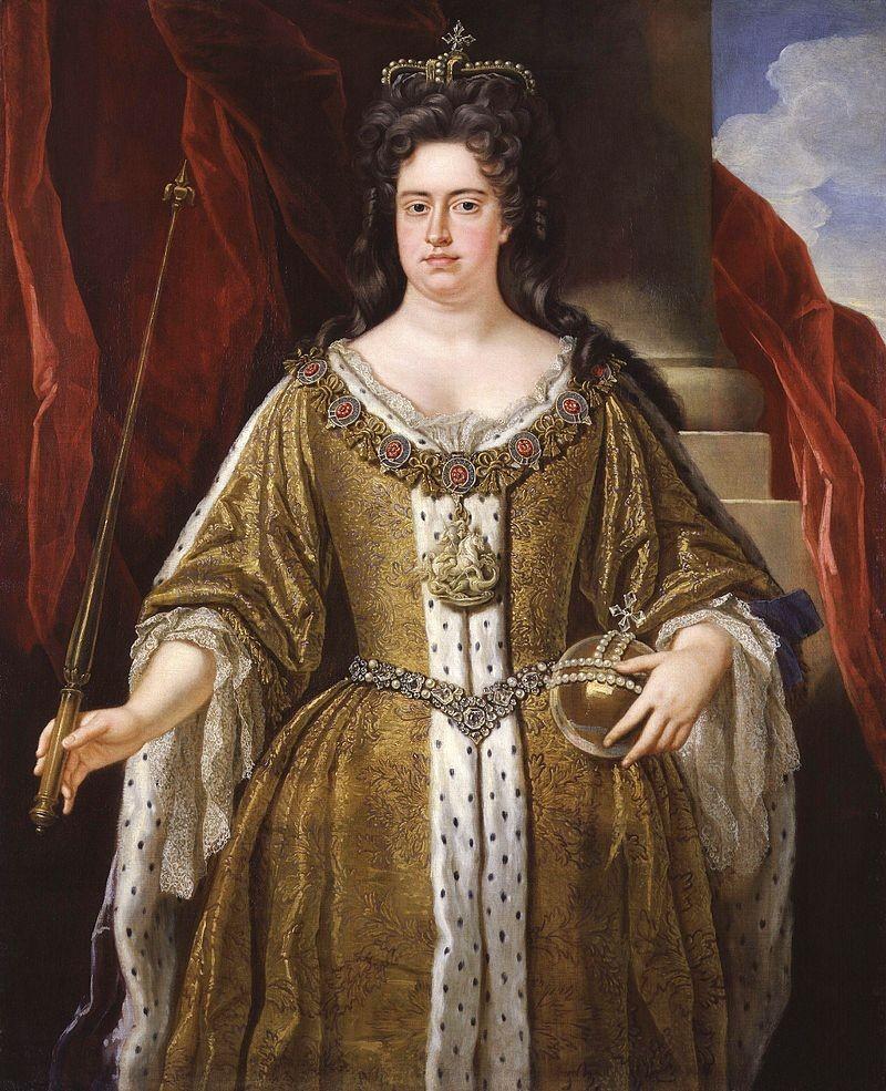 Rainha Ana pintada por John Closterman (Foto: Reprodução/John Closterman)