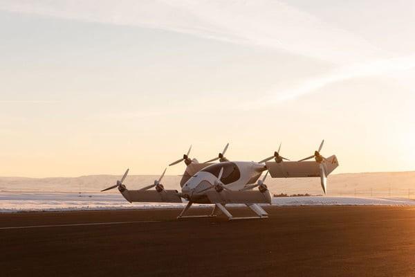 Vahana Alpha Two, novo táxi voador da Airbus (Foto: Divugação)