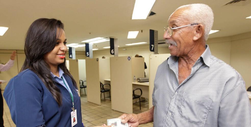 Servidores estaduais aposentados nascidos em janeiro têm até dia 31 para fazer recadastramento anual — Foto: Divulgação/GovBA