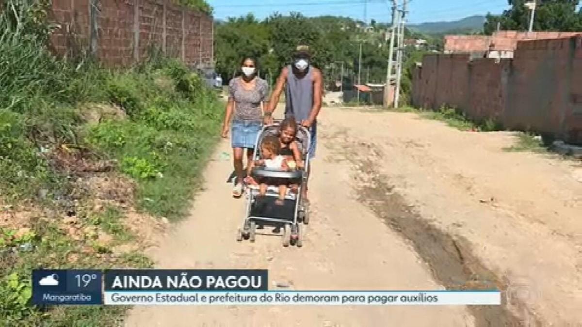 Programas de auxílio prometidos pelo Governo do Estado e Prefeitura do Rio atrasam