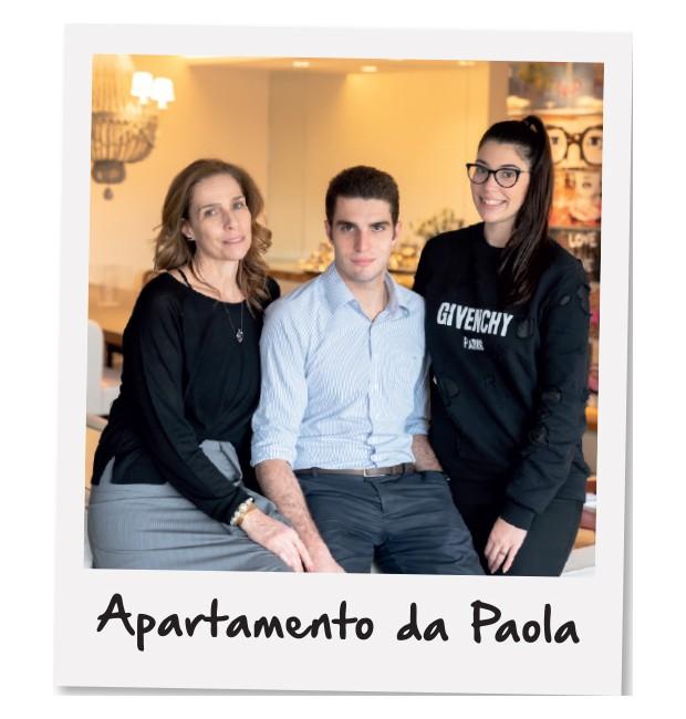 Paola com os filhos, Pedro e Isabella (Foto: Victor Affaro / Edtora Globo)