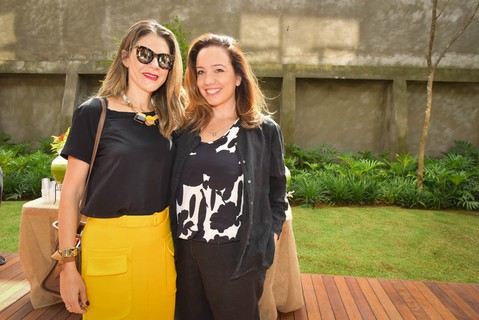 Juliana Mode e Anna Letycia Loyola