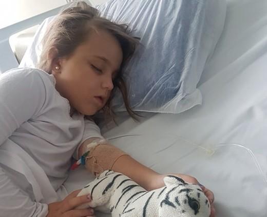 Miosite infantil (Foto: Arquivo Pessoal)