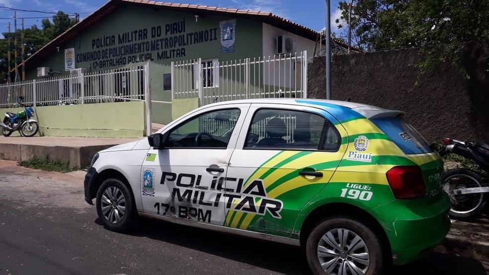 17º Batalhão da Polícia Militar atendeu a ocorrência. — Foto: Gilcilene Araújo/G1