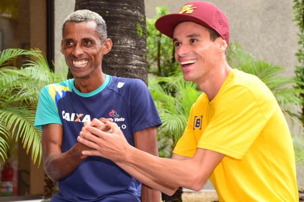 Giovani dos Santos e Franck Caldeira são as apostas do Brasil na São Silvestre (Foto: Djalma Vassão/Gazeta Press)