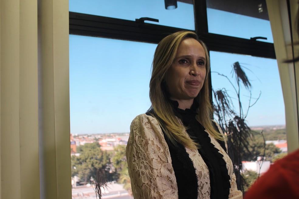Superintendente das PPPs no Piauí, Viviane Moura  (Foto: Catarina Costa/G1 PI)