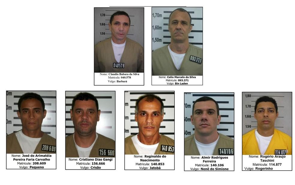 Justiça determina a transferência de sete presos de SP para presídios federais — Foto: Reprodução