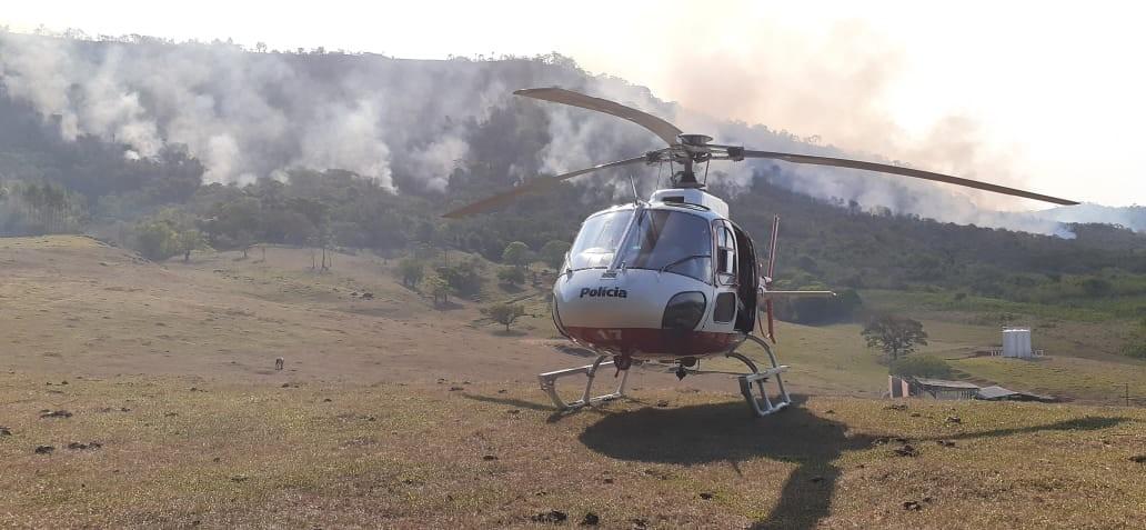 Após sete dias, incêndio na serra de São Pedro é completamente apagado - Notícias - Plantão Diário