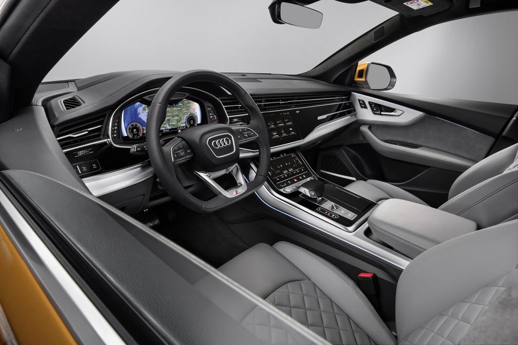 Interior do Audi Q8 (Foto: Audi/Divulgação)