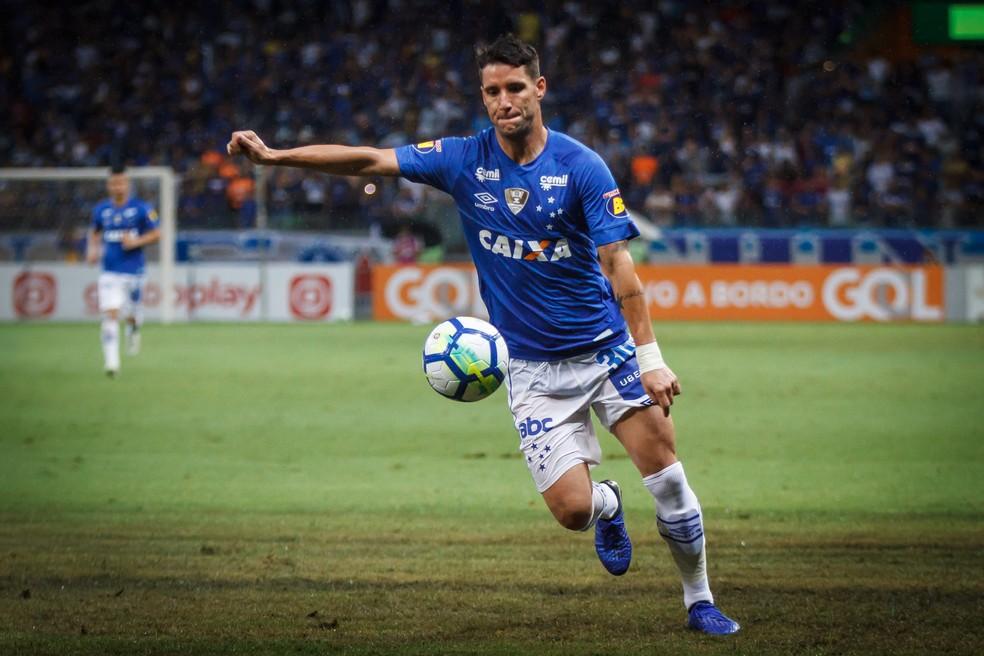 Thiago Neves interessa ao Grêmio — Foto: Vinnicius Silva/Cruzeiro