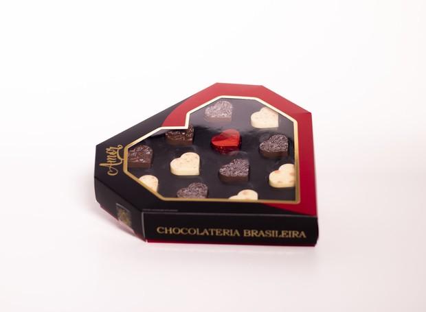 A Caixa Amor é um dos lançamentos da Chocolateria Brasileira para o Dia dos Namorados (Foto: Divulgação)