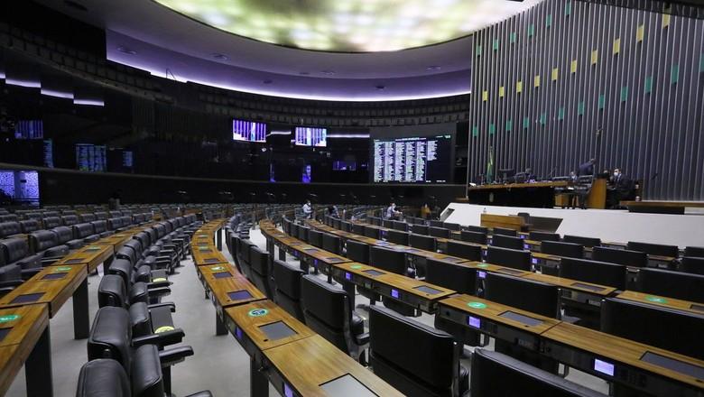Câmara dos Deputados vazia (Foto: Cleia Viana)