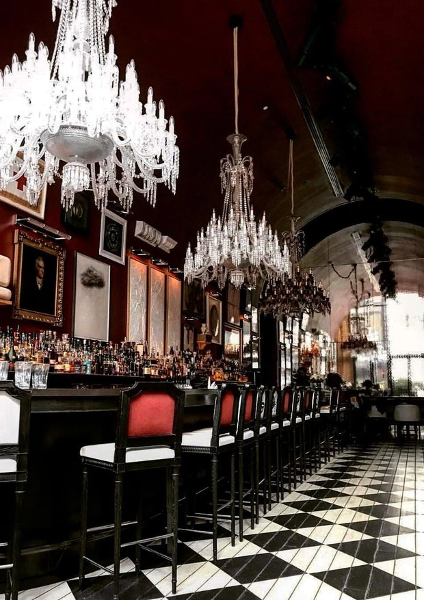 O bar do Baccarat (Foto: Reprodução/Instagram)