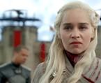 Emilia Clarke em cena como Daenerys no quarto episódio da oitava temporada de 'Game of Thrones'   HBO