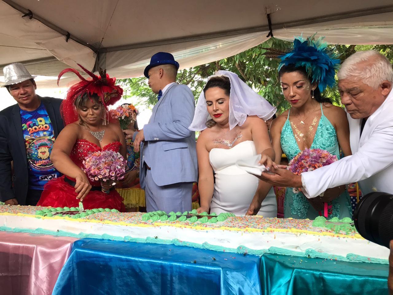 40 anos da Banda do Vai Quem Quer tem bolo de 40 metros e muita cor nas ruas de Porto Velho