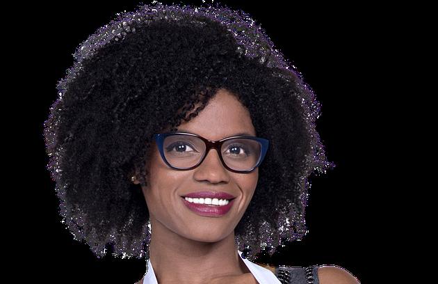 Crisleine, de 30 anos, de Cabo Verde, na África, está no Brasil há dez anos. Já trabalhou como modelo, mas hoje dedica seu tempo ao filho e ao lar (Foto: Divulgação)